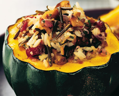 individual squashes such as acorn or even small pumpkins work well in ...