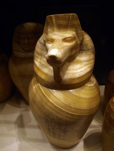 Anubis. Vaso canopo