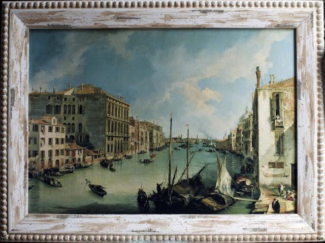 Vista del Canal Grande por Canaletto