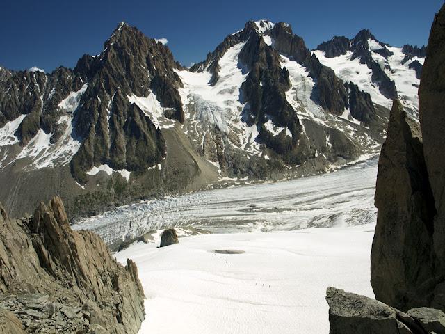 el Glaciar, Mer de Glace