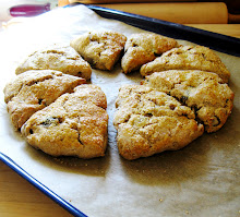 whole wheat dried plum scones