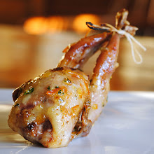 Roasted Quail w/Orange Tarragon Glaze