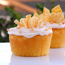 Pineapple Ginger Ale Cupcakes
