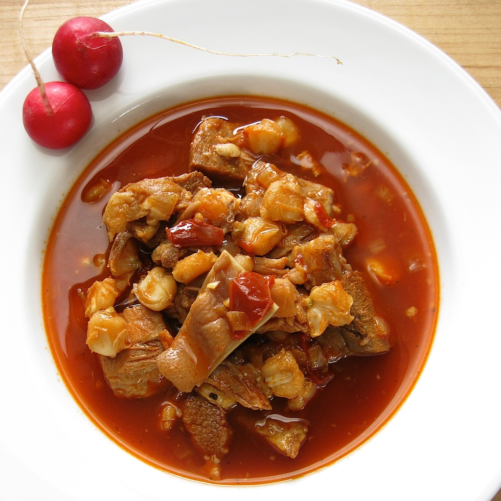 Posole Rojo Recipe — Dishmaps