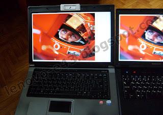 Сравнение матового и глянцевого экрана