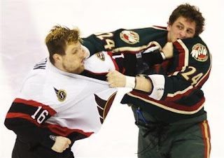 Former Wild Enforcer Derek Boogaard