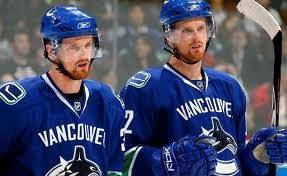 Henrik and Daniel Sedin