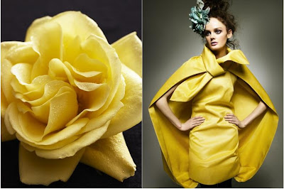 Deutsch Vogue 2007 Yellow flower-dress