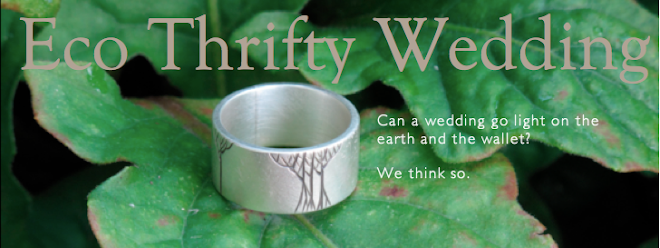 Eco Thrifty Wedding