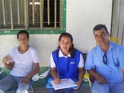 Firma de Acuerdo  Corresponsabilidad Familia Conde Torres Barrio Paraiso Corregimiento de Chicoral