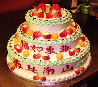Chinese Cake Birthday  Gallery