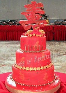 Chinese Cake Birthday  Image