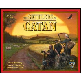The Settlers Of Catan Board Game