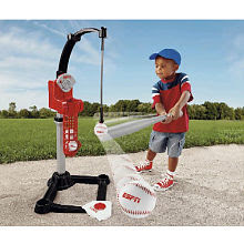 Boy in sports product