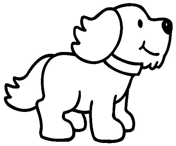Como dibujar facil un perro - Imagui