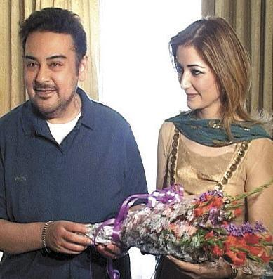 adnan sami before and now