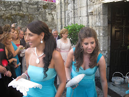 Mi primas Ana Elsa y Fatima