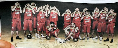 spanish basketball team controversial photo,beijing olympics medal tally
