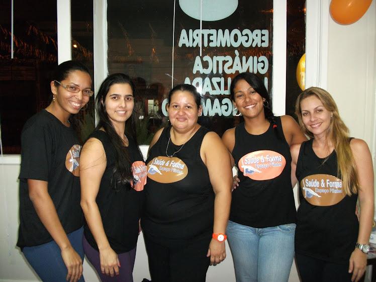 Equipe Saúde & Forma Espaço Pilates