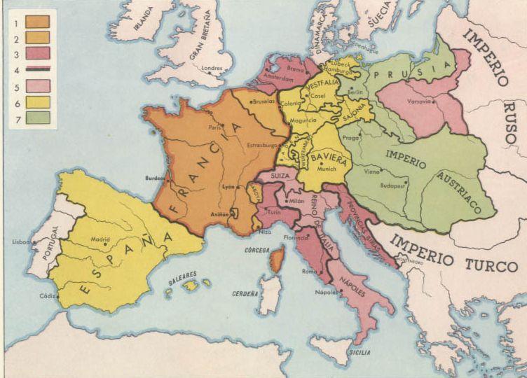 mapa de europa. mapa de europa