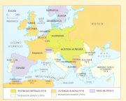De la Europa de 1814 a la de 1914. La comparación de ambos mapas nos . (mapa de europa en )