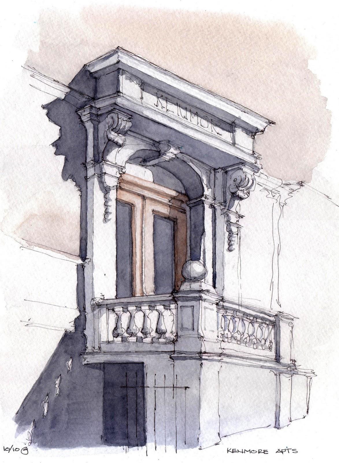 Park Slope Sketch November 2010