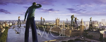 Giants over London - Carl Warner