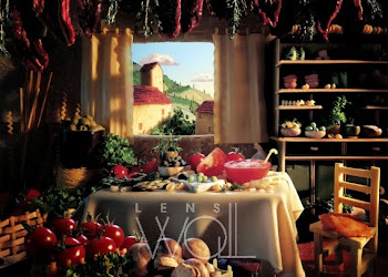 Tuscan Kitchen - Carl Warner