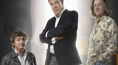100 per cent of FACT factual picture of Top Gear presenters Hammond, Clarkson and Slow