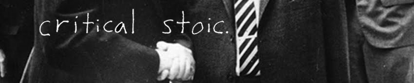 Critical Stoic
