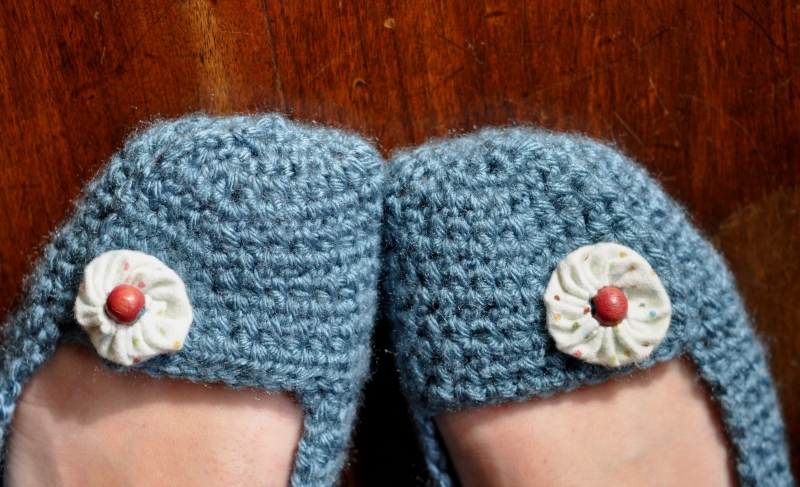 CROCHET BALLET SLIPPERS PATTERN – Crochet Patterns
