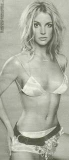 Las fotos de Britney Spears desnuda en topless
