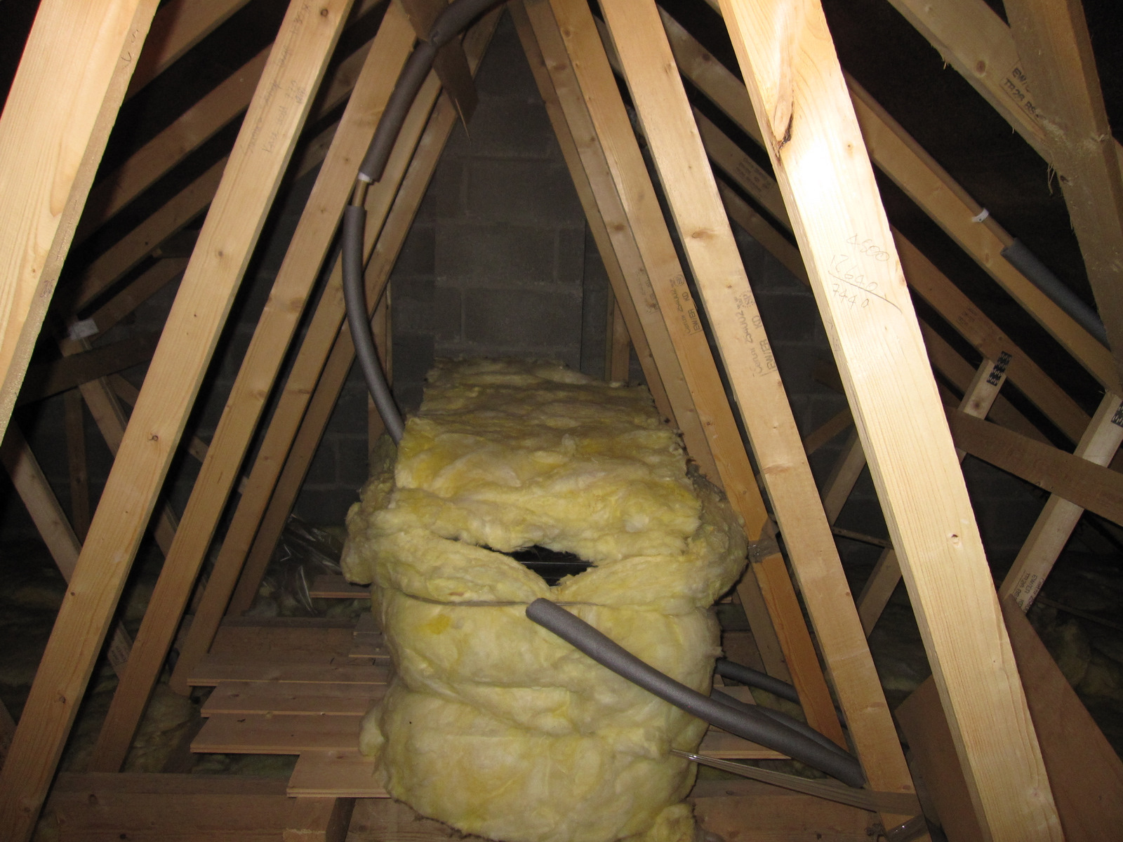 tulpenpink before and after pictures the attic conversion cellulose insulation attic images