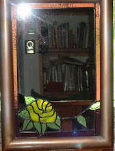 Yellow Rose Mirror 2