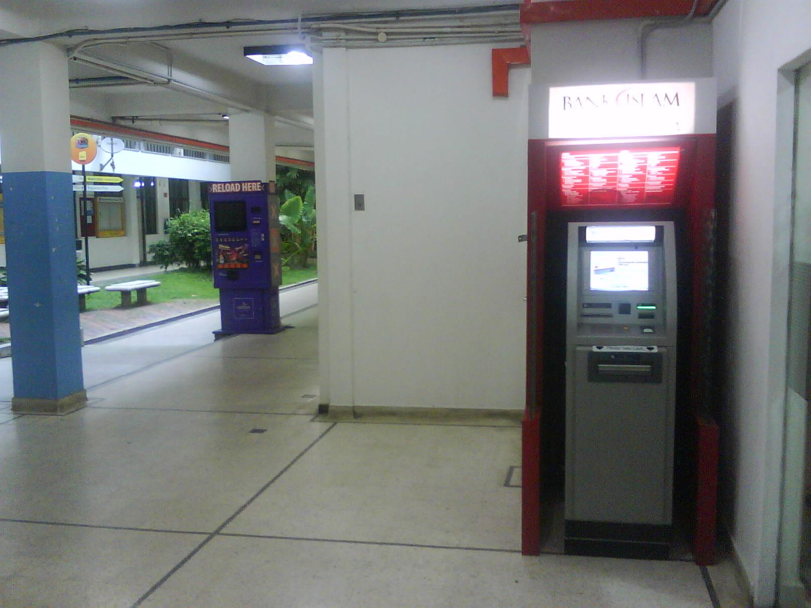 Mesin ATM Bank Islam di UTM