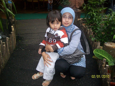 Foto Rakha dan Mamah