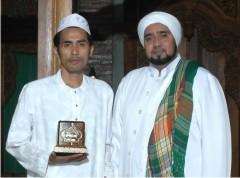 H.Afif bersama Habib Syech