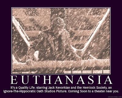 legality and morality of euthanasia. Who said it?