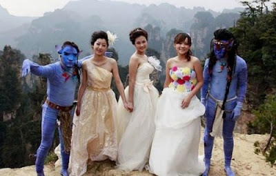 China is now offering 'Avatar'-themed weddings!