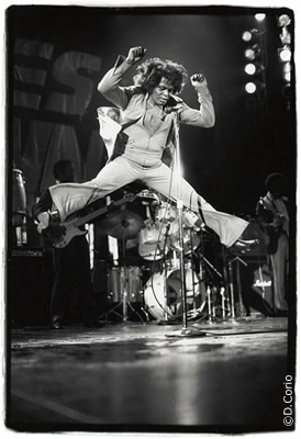 James Brown: And I do just what I want