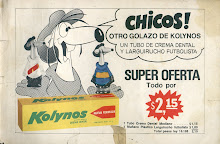 KOLYNOS Y LARGUIRUCHO FUTBOLISTA