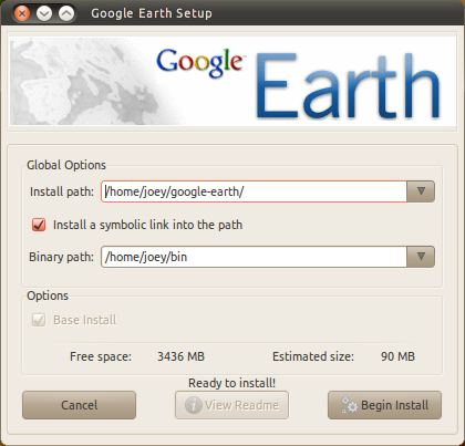 Instalasi Google Earth