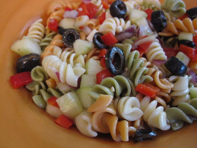 Easy Italian Pasta Salad Ingredients Rotini 1 Box Pictures