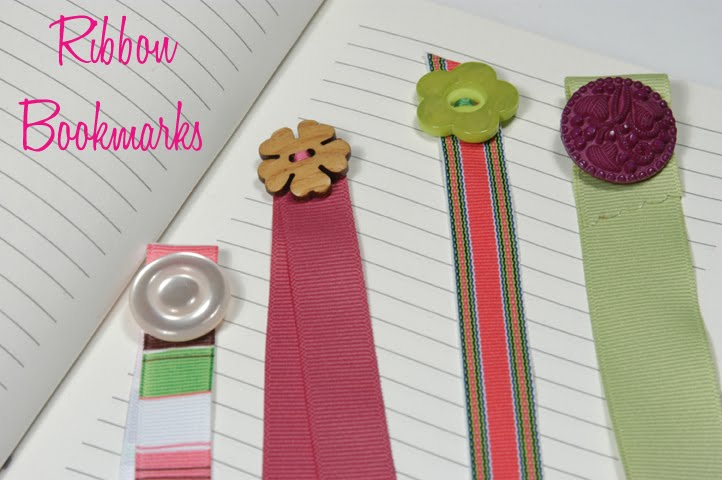 Cathie filian make it ribbon bookmarks for How to tie a ribbon on a bookmark