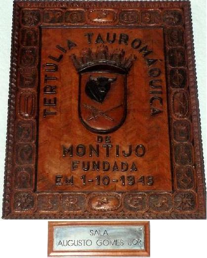 TERTULIA TAUROMAQUICA DO MONTIJO