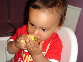 ¿Quien dice que a los niños no les gustan las frutas?