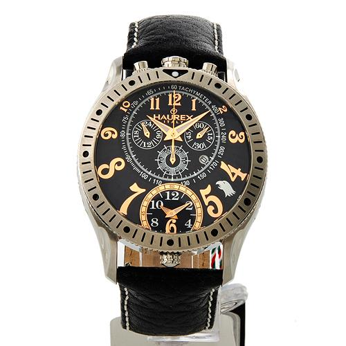 Shop izzy haurex italy raptor chronograph date watch gents authenticity report available for Haurex watches