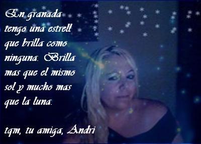 """""""DE MI AMIGA ANDRI"""""""