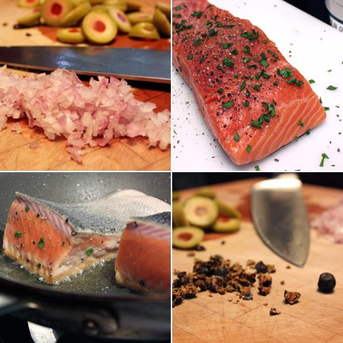 lisa is cooking: Big City Salmon with Martini Sauce
