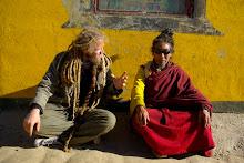 Øyvind og en kinesisk munk